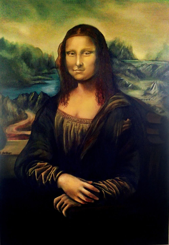 Extrêmement Reproduction Tableau de Léonard DeVinci, La joconde Mona Lisa  AW56