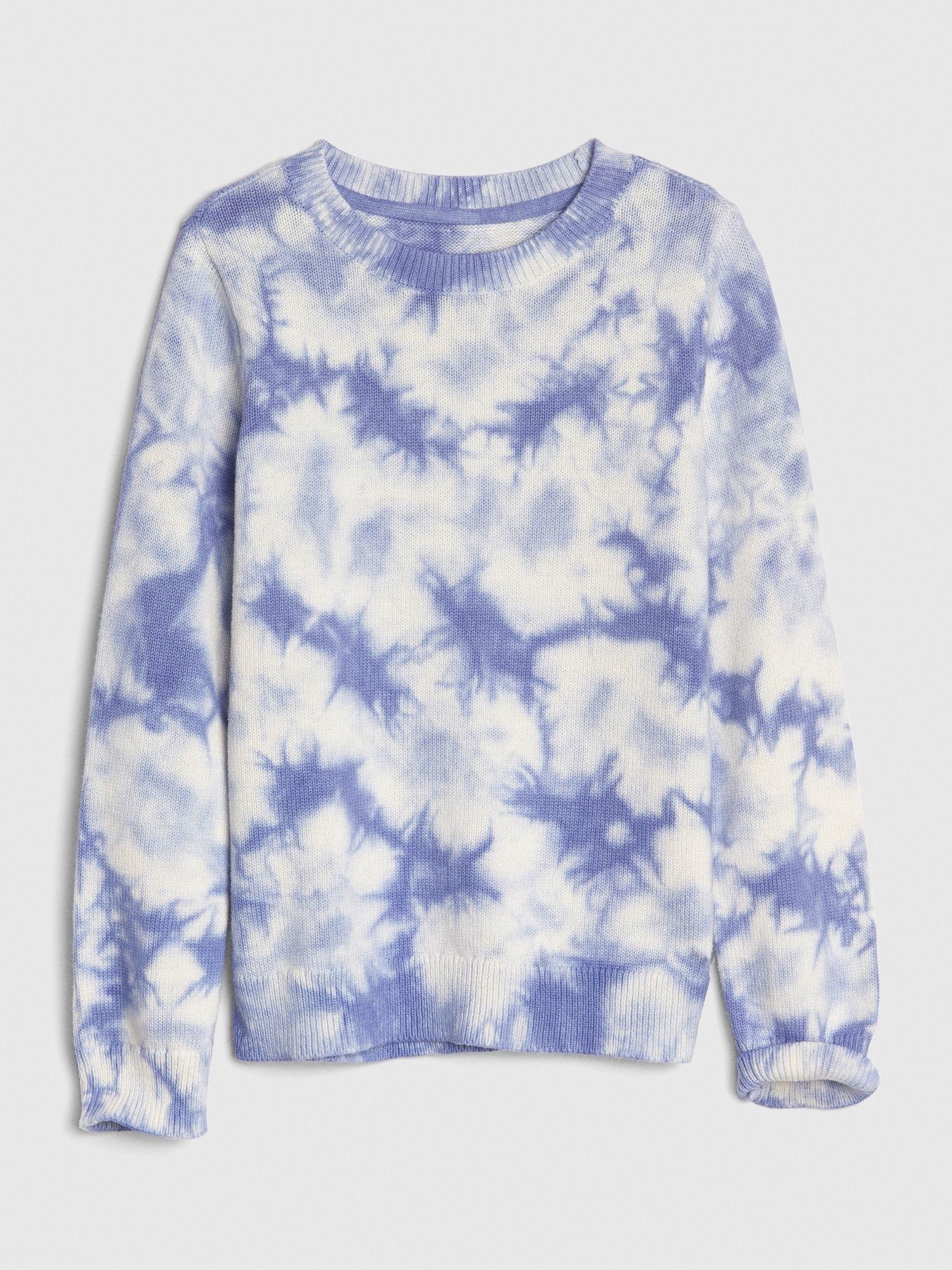 Kids Tie Dye Sweater Gap Kids Tie Dye Tie Dye Sweater Blue Tie Dye [ 2000 x 1500 Pixel ]
