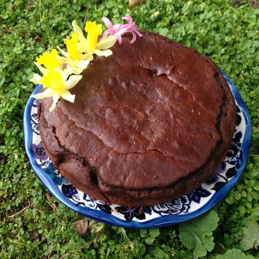 Gâteau au chocolat moelleux (sans beurre, sans oeufs ...