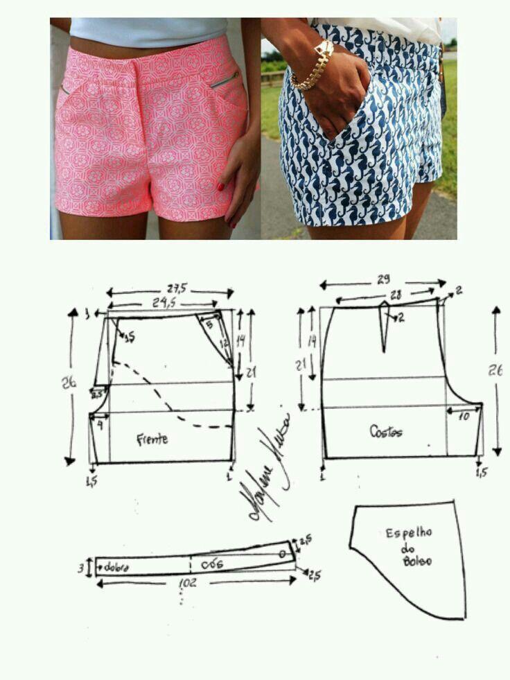 Pin de Yesenia Silva en Patrones | Pinterest | Costura, Ropa y ...