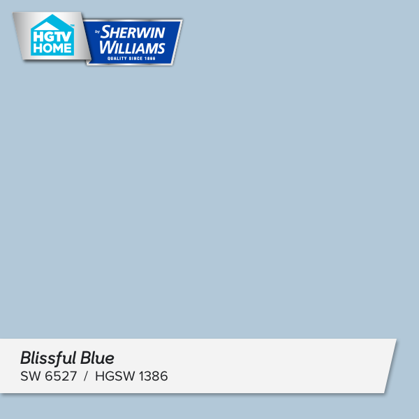 I Really Like This Paint Color Blissful Blue What Do You Think Http Www Hgtvhomebysherwinwilli Color Collection Cool Color Palette Paint Colors For Home