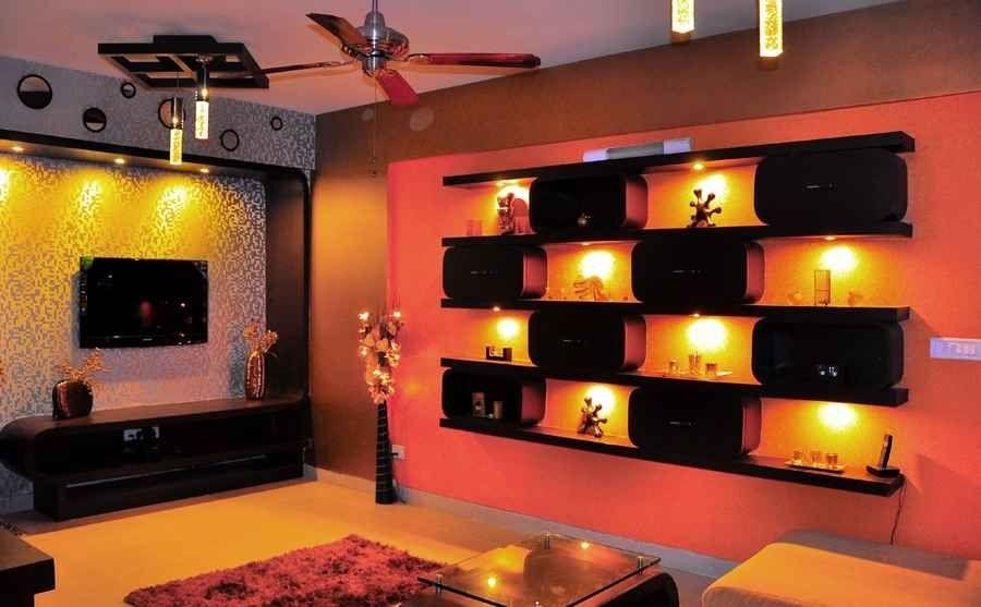 Chic Modern Living Room Design By Abhishek Chadha, Architect In Bangalore,  Karnataka. Rajasthani Style Interior ...