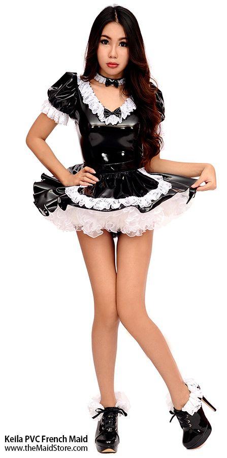 Curvy maid asian sissy