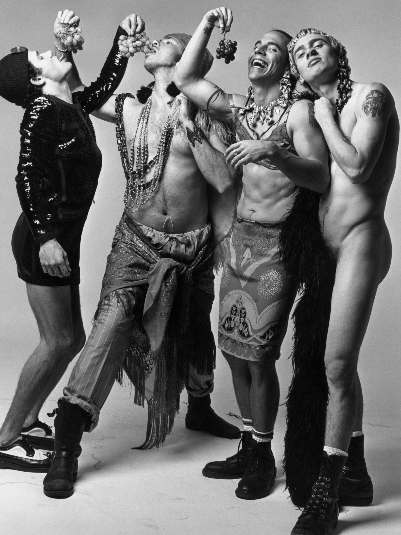 Must-See '90s Photos of Your Favorite Celebs | Red hot chili peppers  poster, Stuffed peppers, Red hot chili peppers