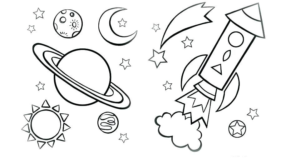 Rocket Coloring Pages Coloring Pages Printable Space Coloring
