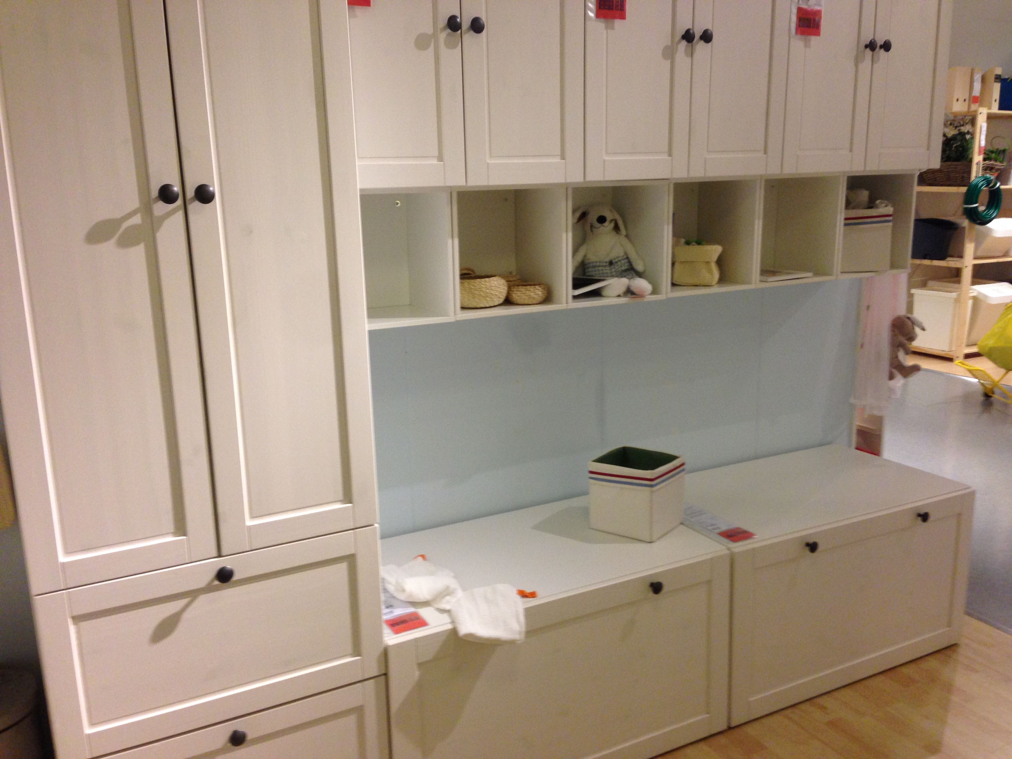 Ikea Stuva with Betsad doors and drawers. Matches the Ikea Sundvik ...