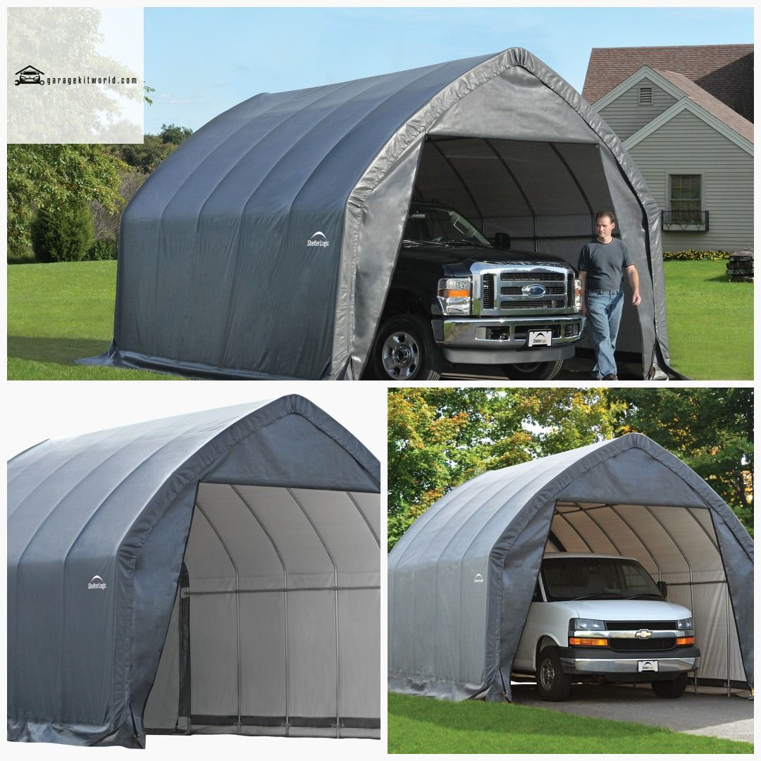 ShelterLogic 13 x 20 ft. SUV/Truck GarageinaBox garage