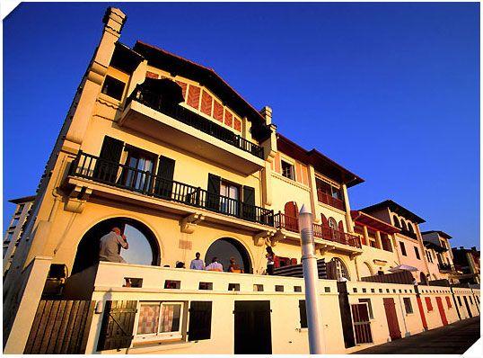 Hossegor architecture basco landaise du front de mer la region pinterest places et - Office du tourisme hossegor ...