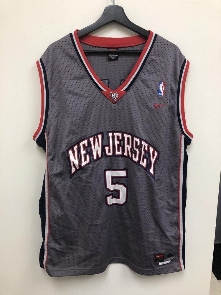 huge selection of af216 043dc Nike Swingman NBA New Jersey Nets Jason Kidd Jersey Size XL ...
