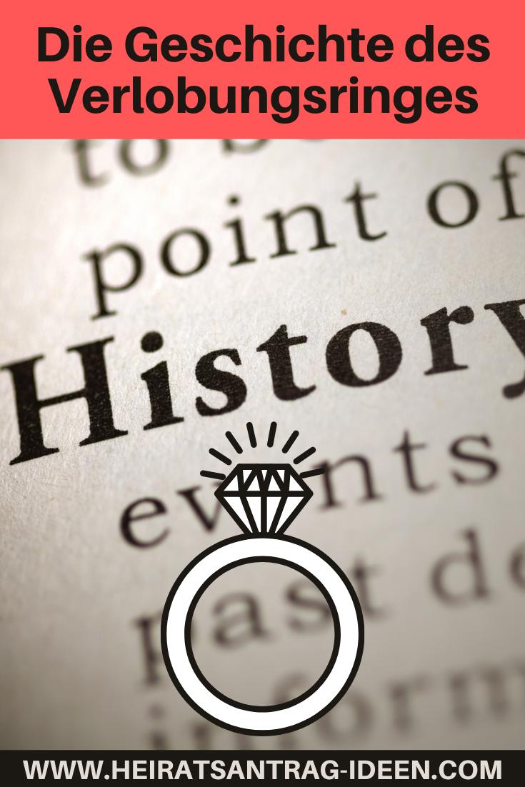 Erfunden hat den Verlobungsring angeblich Papst Stephan I., der ein Verfechter der Unauflöslichkeit der Ehe war. Der Ring sollte vom zukünftigen Ehemann an seine Braut, als gegenseitiges Versprechen der Treue geschenkt werden.