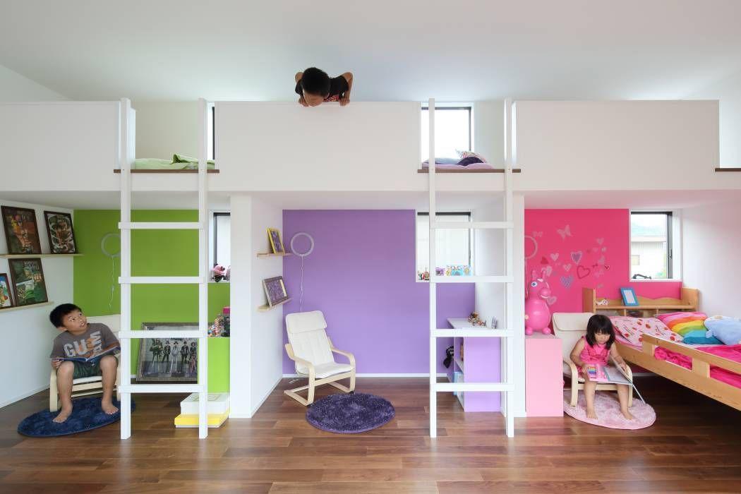 House in Fukuchiyama: arakawa Architects & Associatesが手掛けたtranslation missing: jp.style.子供部屋.minimalist子供部屋です。