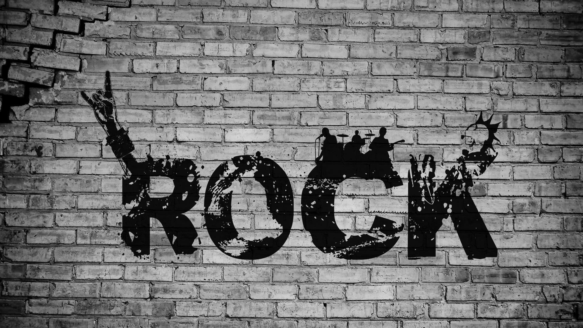 Rock Wallpaper Inspiration Pinterest -> Papel De Parede Para Sala Rock N Roll