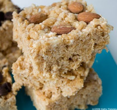 Vegan Rice Crispy Treats Recipe: Just Dandy #crispytreats