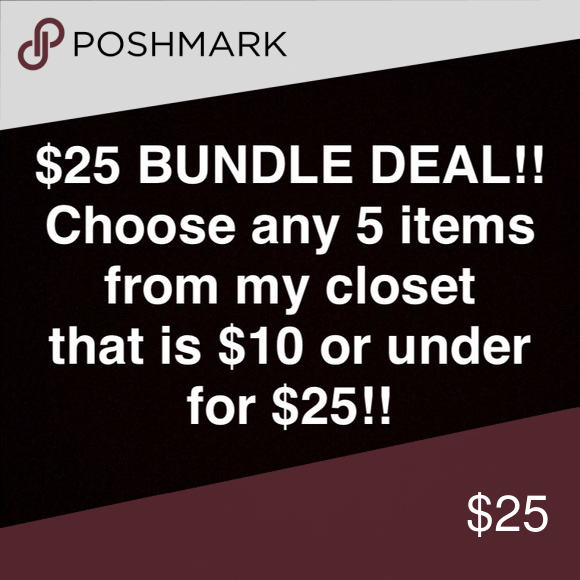 bundle deal✨limited time only Shop my closet & pick out ANY 5 items you want for a total cost of $25!! Prices for items chosen MUST be listed $10 or under in order to qualify😊 Once you decide on which 5 items you would like to bundle, leave a comment on each of them & just let me know you're interested. I will then move forward to making a custom bundle for you to purchase! Thanks guys😊 & as always I have a bundle discount & reasonable offers are always welcomed! Old Navy Tops