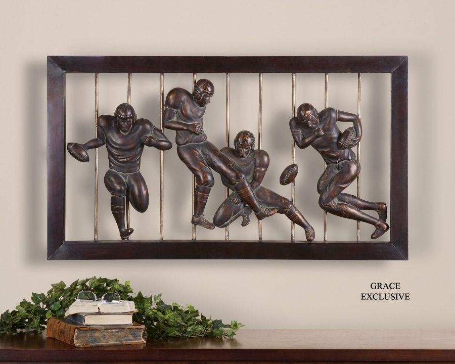 Vintage Football Wall Art