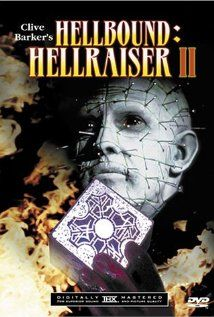 Hellbound: Hellraiser II (1988), Film Futures and New World Pictures with Doug Bradley, Ashley Laurence, and Imogen Boorman. This was okay but I preferred the original.