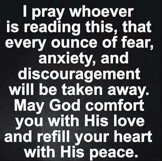 Comfort and Gods Glory