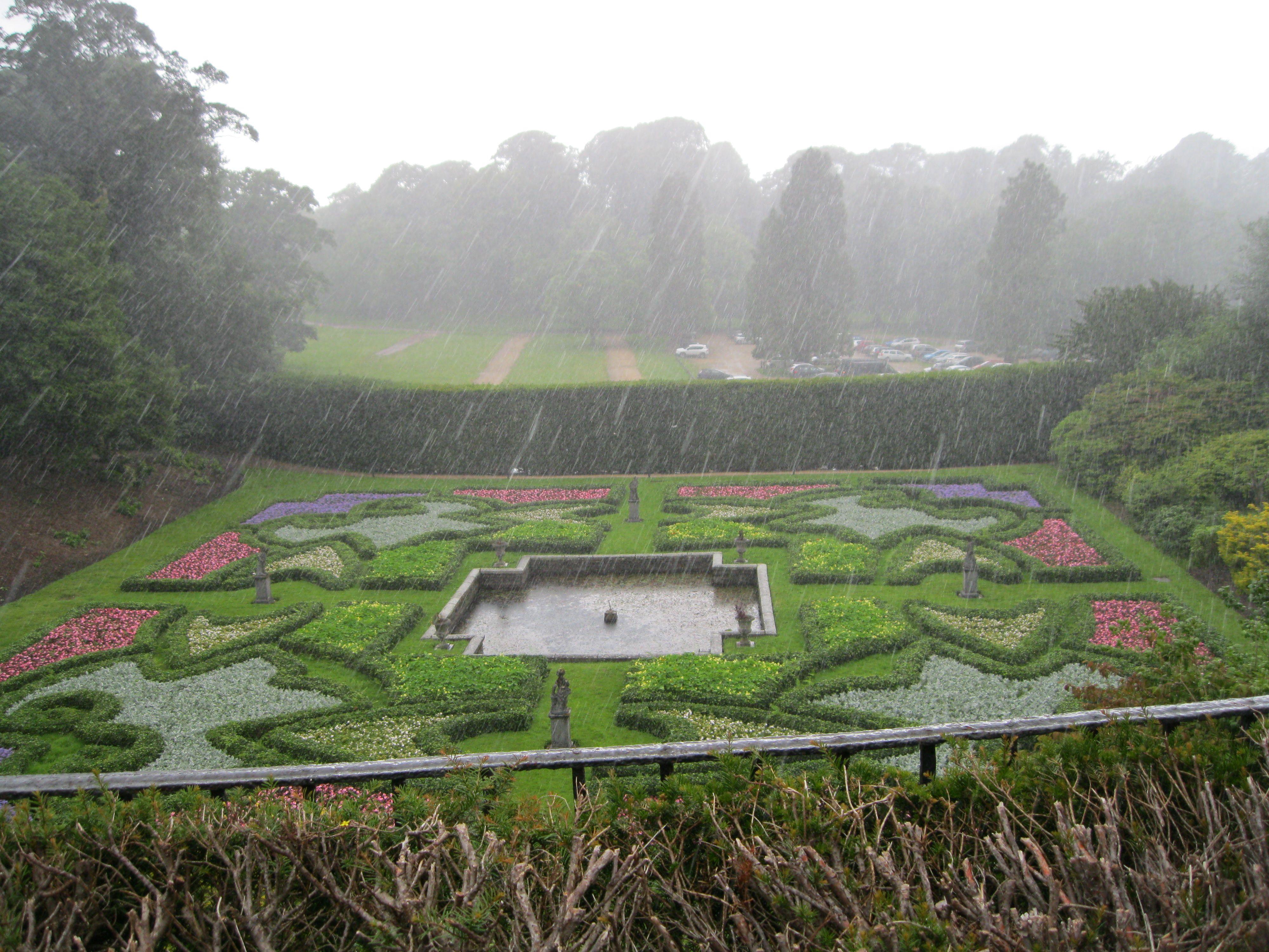 Lyme Park: Dutch Garden