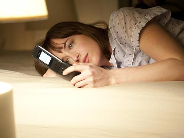 Image result for Anastasia Steele phone
