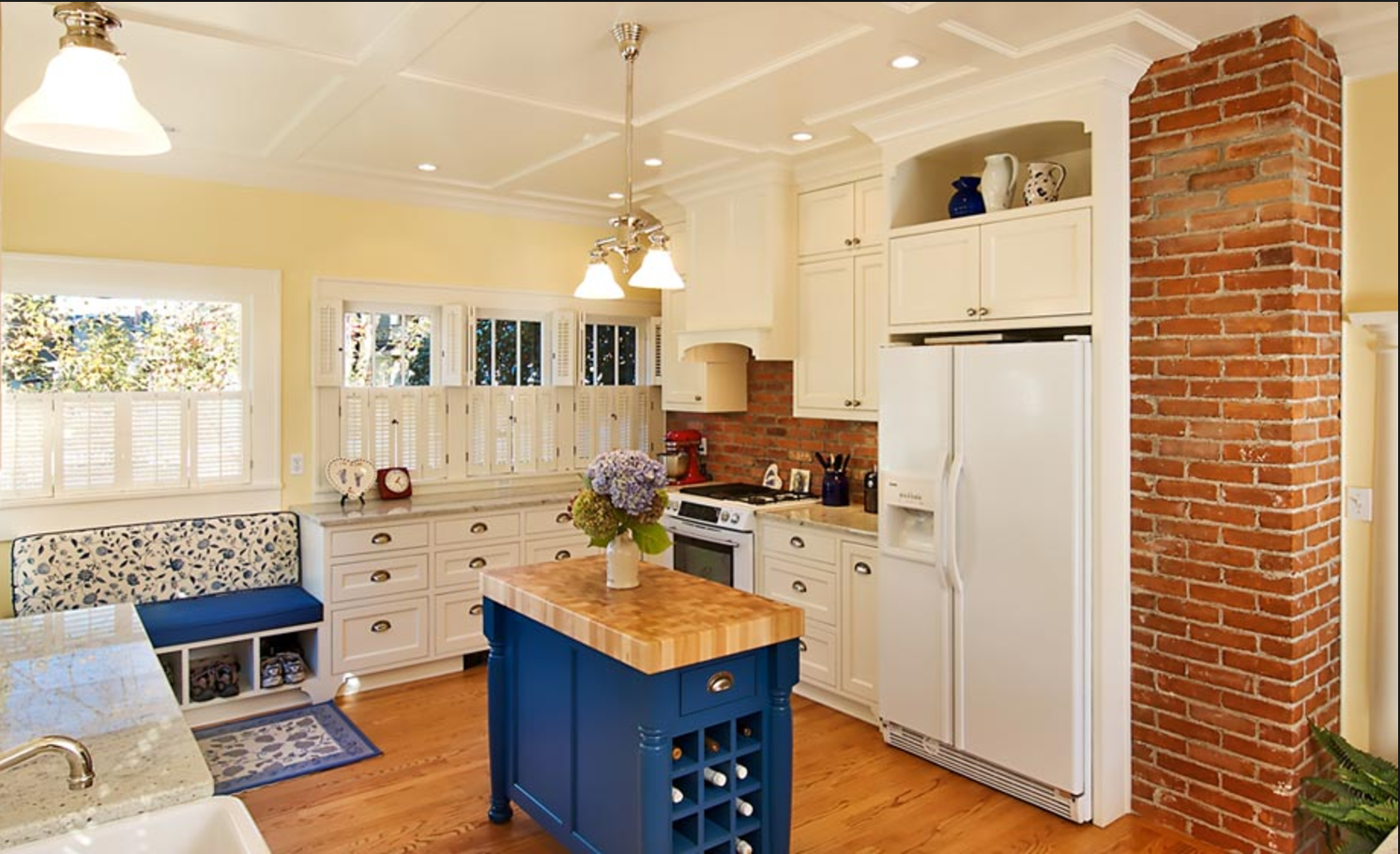 Exposed brick from old chimney in kitchen | Cape Cod Kitchen Remodel on kitchen renovation ideas, remodeled kitchen cabinets, remodeled kitchen americana, small kitchen design ideas, remodeled kitchens with islands, counter top kitchen ideas, skylight kitchen ideas, double oven kitchen ideas, remodeling your kitchen ideas, microwave kitchen ideas, wood floors kitchen ideas, small kitchen remodeling ideas, remodeled contemporary kitchen, diy kitchen remodel ideas, historic kitchen ideas, spacious kitchen ideas, basic kitchen remodel ideas, pantry kitchen ideas, traditional kitchen design ideas, 2014 kitchen remodeling ideas,