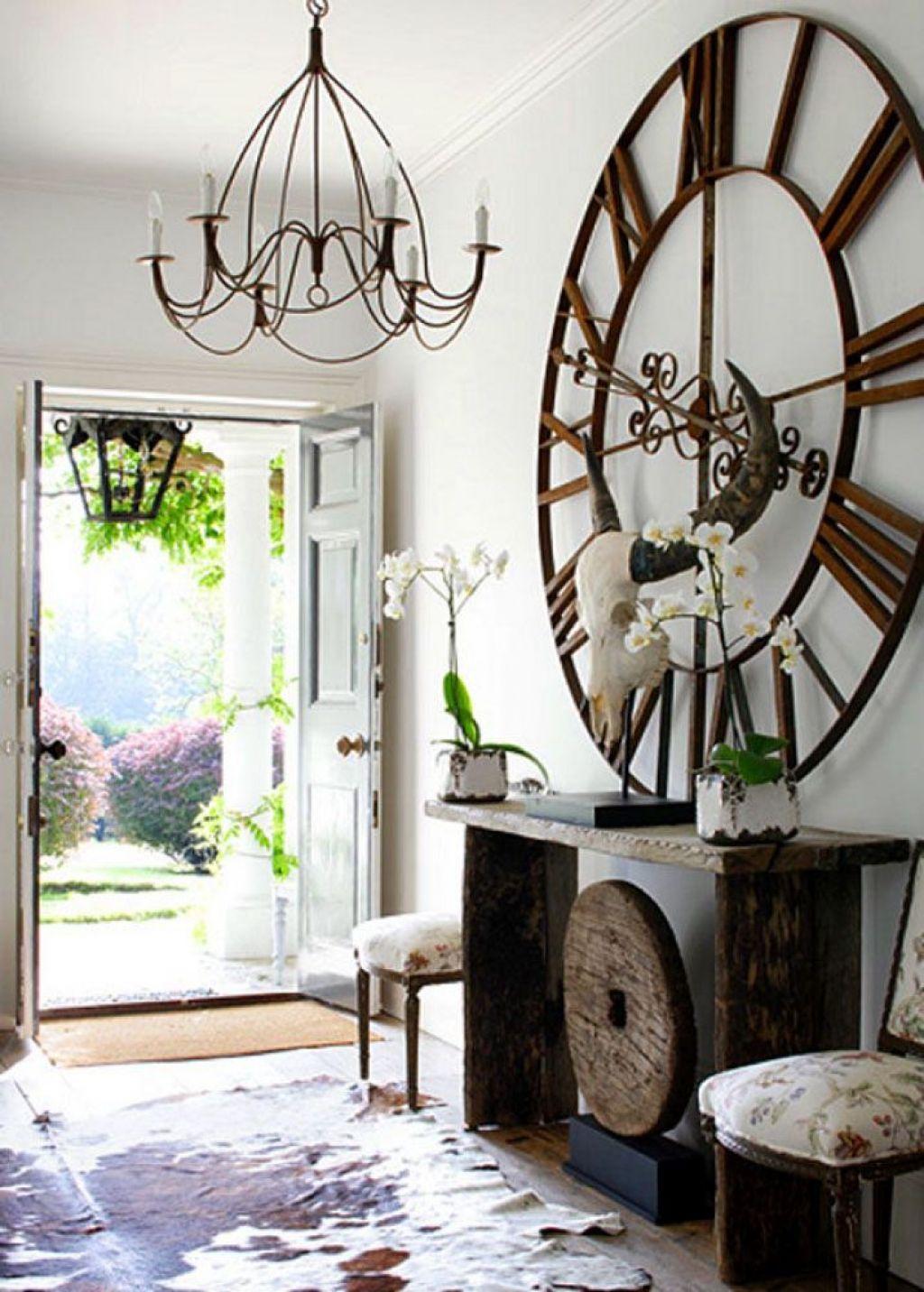 Ways To Hang Wall Clocks White Home Decor Chic Interior Shabby Chic Interiors