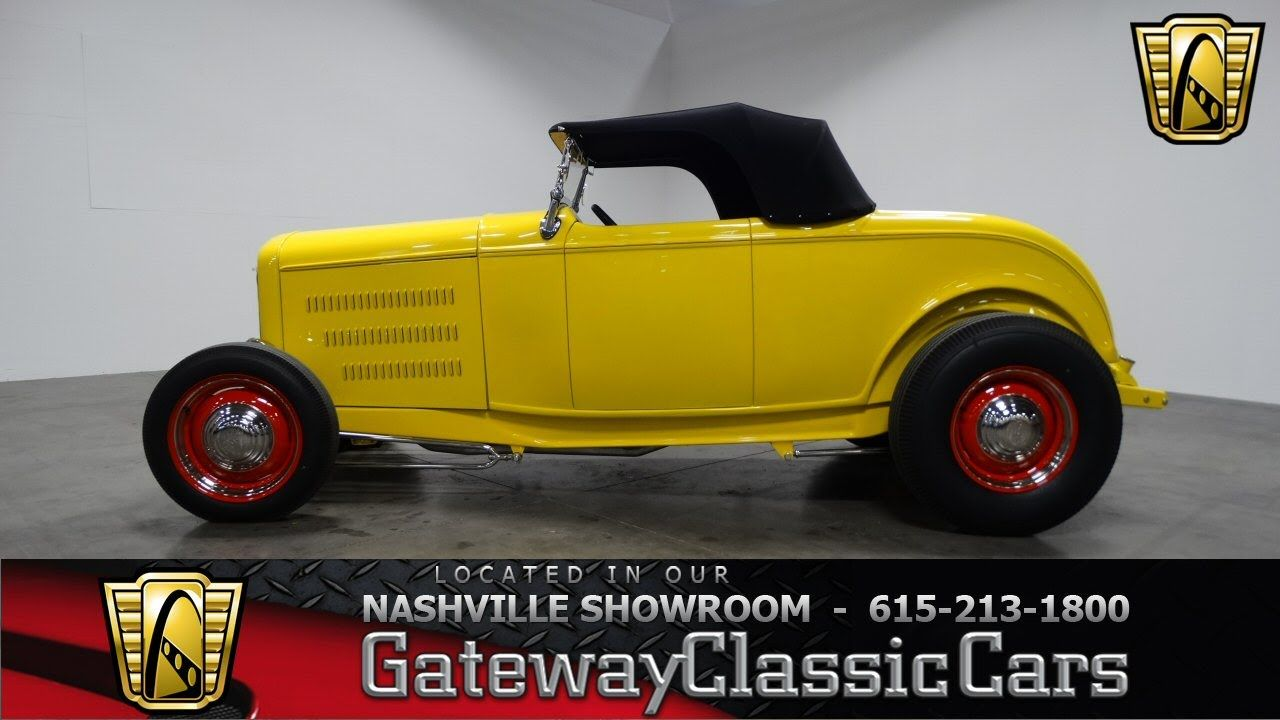 1932 Ford Roadster Gateway Classic Cars Of Nashville 103