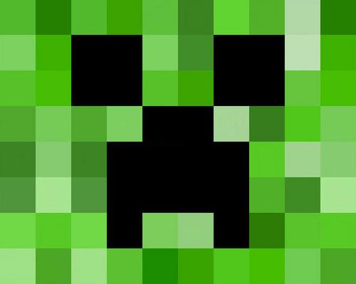 Minecraft Creeper Clip Art Coloring Page Batman Pinterest Minecraft