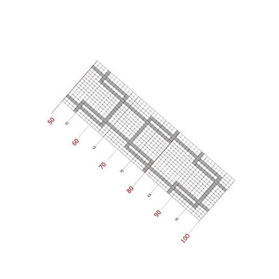 Loom bracelet pattern, loom pattern, square stitch pattern