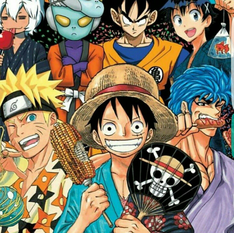 Anime Characters, Crossover, Kimono, Matsuri, Festival
