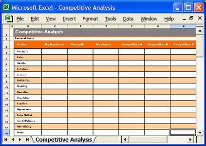 Detailed Marketing Plan Template  Detailed Marketing Plan Excel