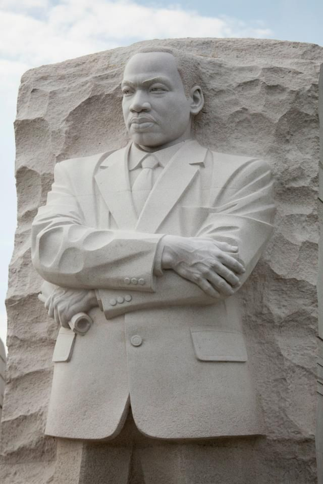 Martin Luther King Jr Monument Washington Dc Black Art