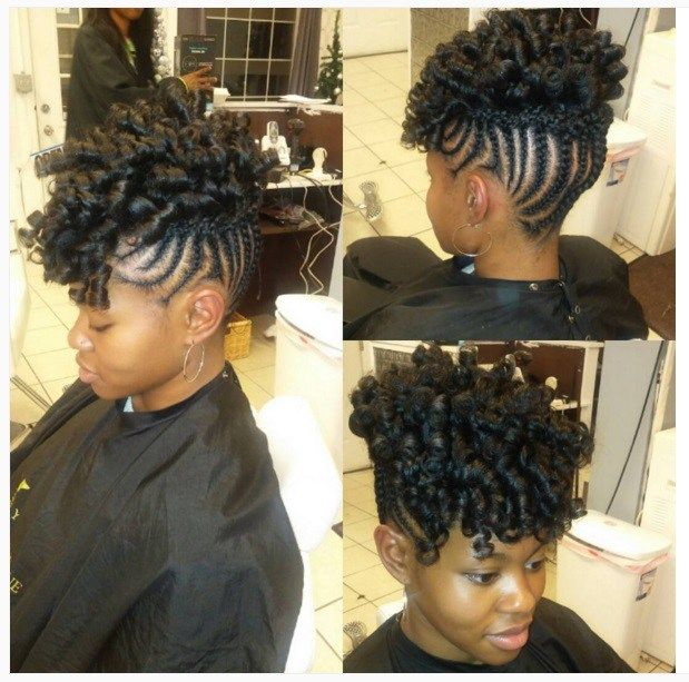 101 Natural Hair Updos For Long Hair Short Coiffure Cheveux