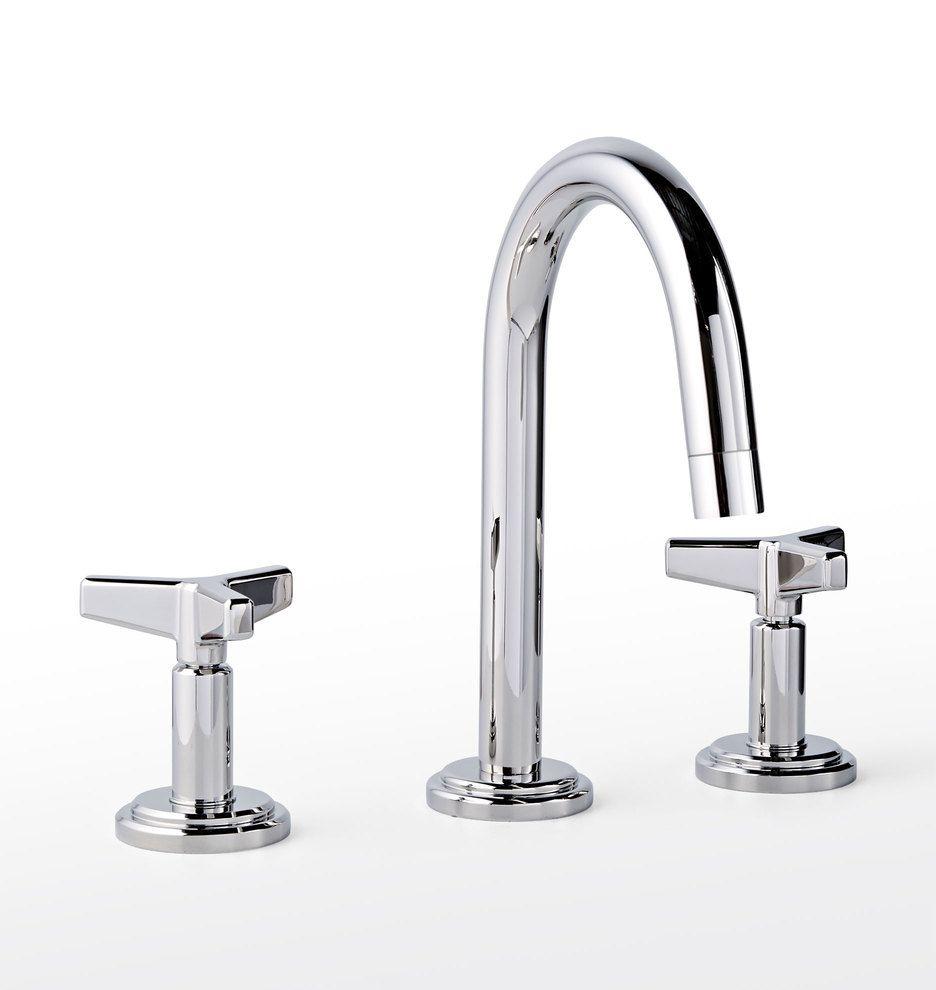 Blair Cross Handle Faucet Rejuvenation Cross Handle Faucet Faucet Widespread Bathroom Faucet [ 990 x 936 Pixel ]