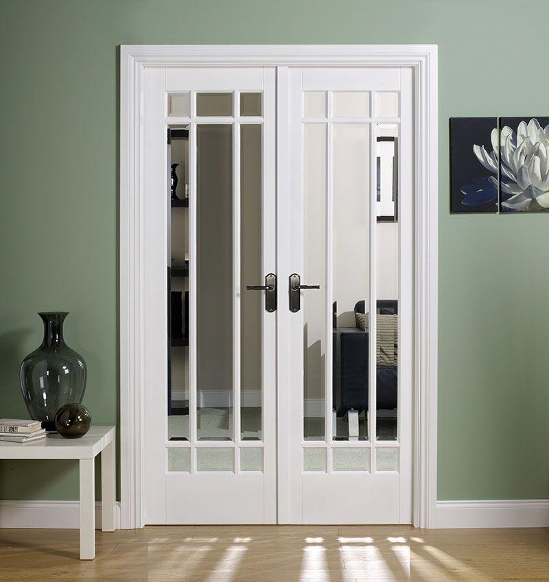 Beautiful White Interior French Doors 3 White French Doors