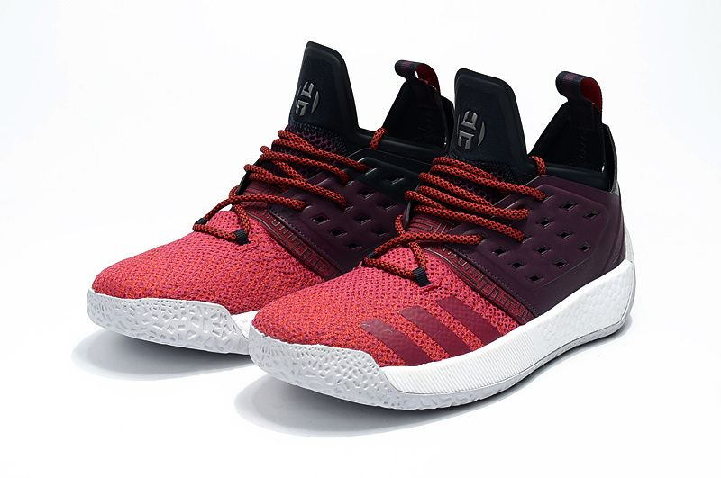 New Harden Sneakers adidas Harden Vol 2 AH2124 Maroon Red