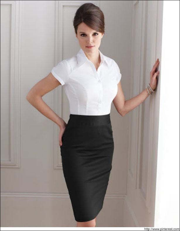 What to Wear With a Pencil Skirt | Pencil Skirt Outfits | Short ...