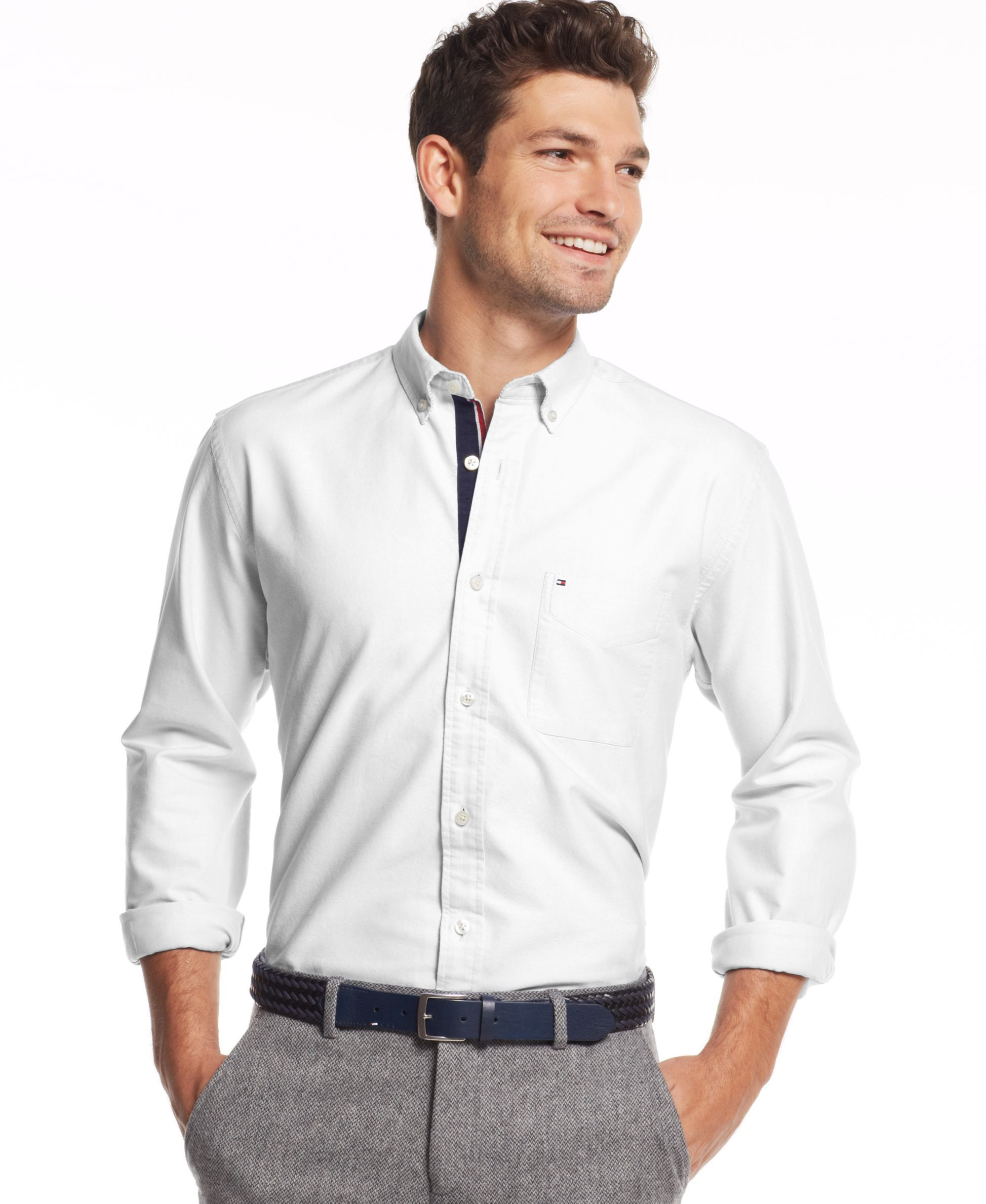 Tommy Hilfiger Cambridge Oxford Custom Fit Shirt Products Shirts