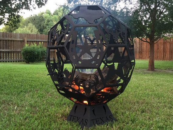 Custom Fire Pits by HoustonCNCPlasma on Etsy - Custom Fire Pits By HoustonCNCPlasma On Etsy Outdoor Seating