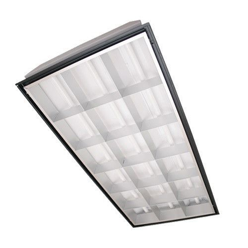 parabolic light fixtures office lighting. texas fluorescents 3 lamp parabolic layin troffer light fixtures office lighting