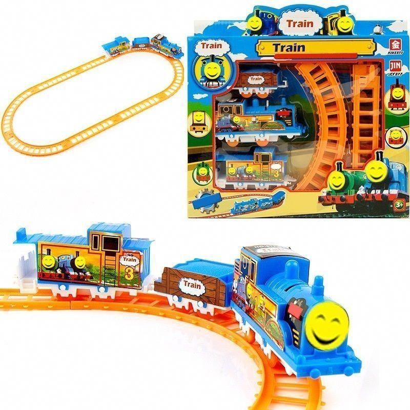 Hot Sales Diy Slot Model For Thomas Electric Train Track Risky Train Railway Rail Bridge Drop Play Set Toy For Children S Model Trains Toy Trains Set Toy Train