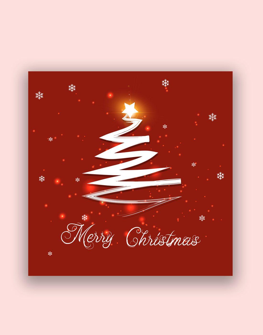 Free Modern Christmas Tree Templates Christmas Card Templates Free Christmas Cards Free Christmas Card Template