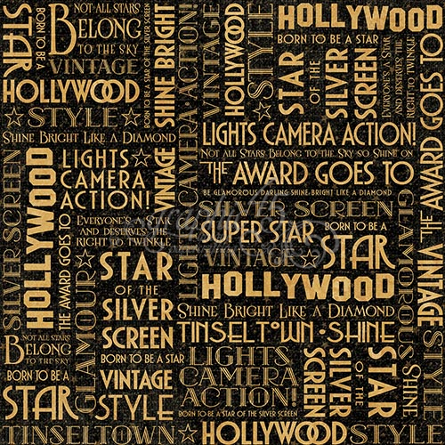 Filled With Budding Stars Gorgeous Actors And Actresses Old Time Glamour Graphic 45 Vintage Hollywood