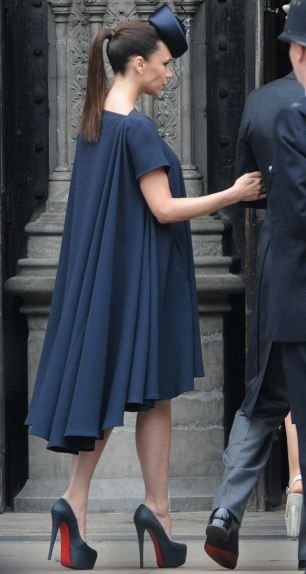 David Beckham And Victoria Arrive To Attend The Royal Wedding Of Prince William Catherine Middleton At Westminster Abbey On April 29