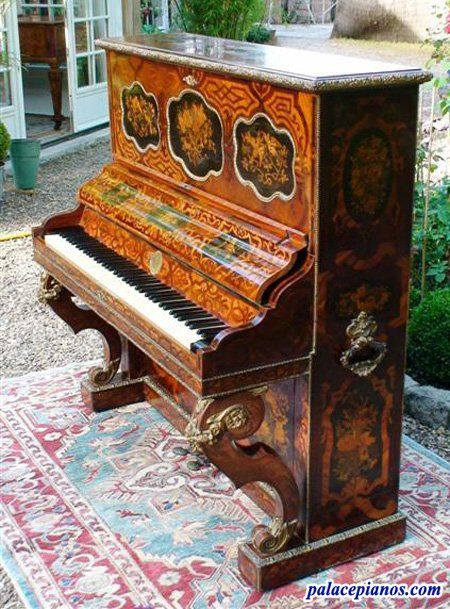 Art Cased Upright Montal Piano Serial Number 795 Year