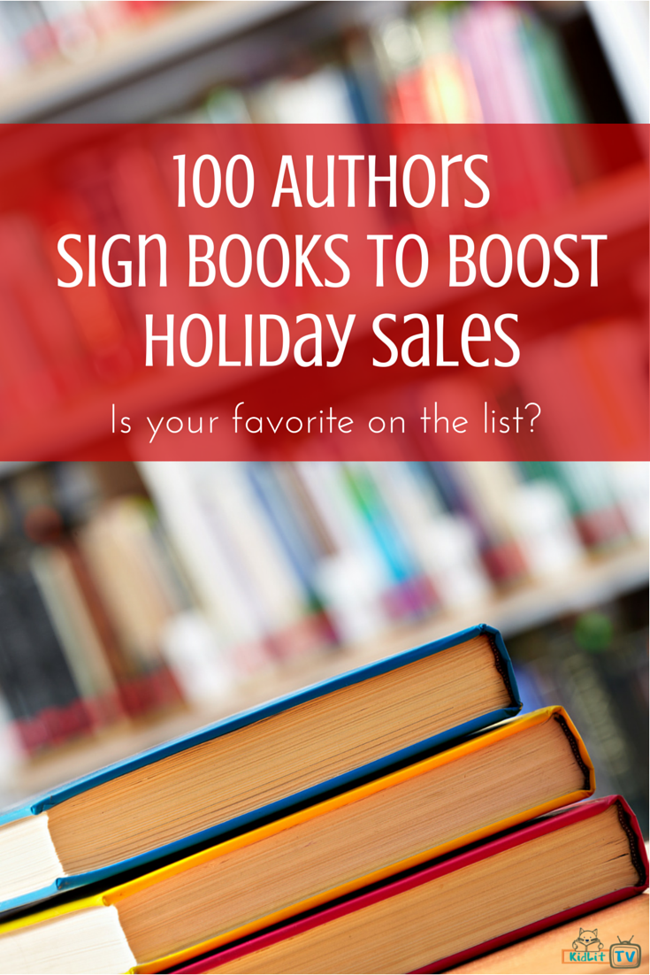 100 Authors Sign Books to Boost Holiday Sales Book