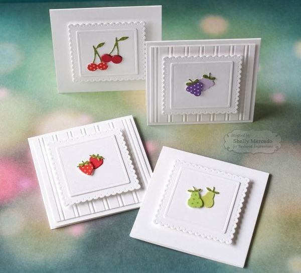 3x3 envelopes  simple cards small cards handmade