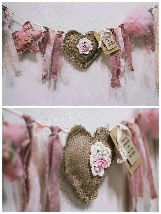 Corazon Y Trapitos Valentine Crafts Shabby Chic Crafts Valentines Diy