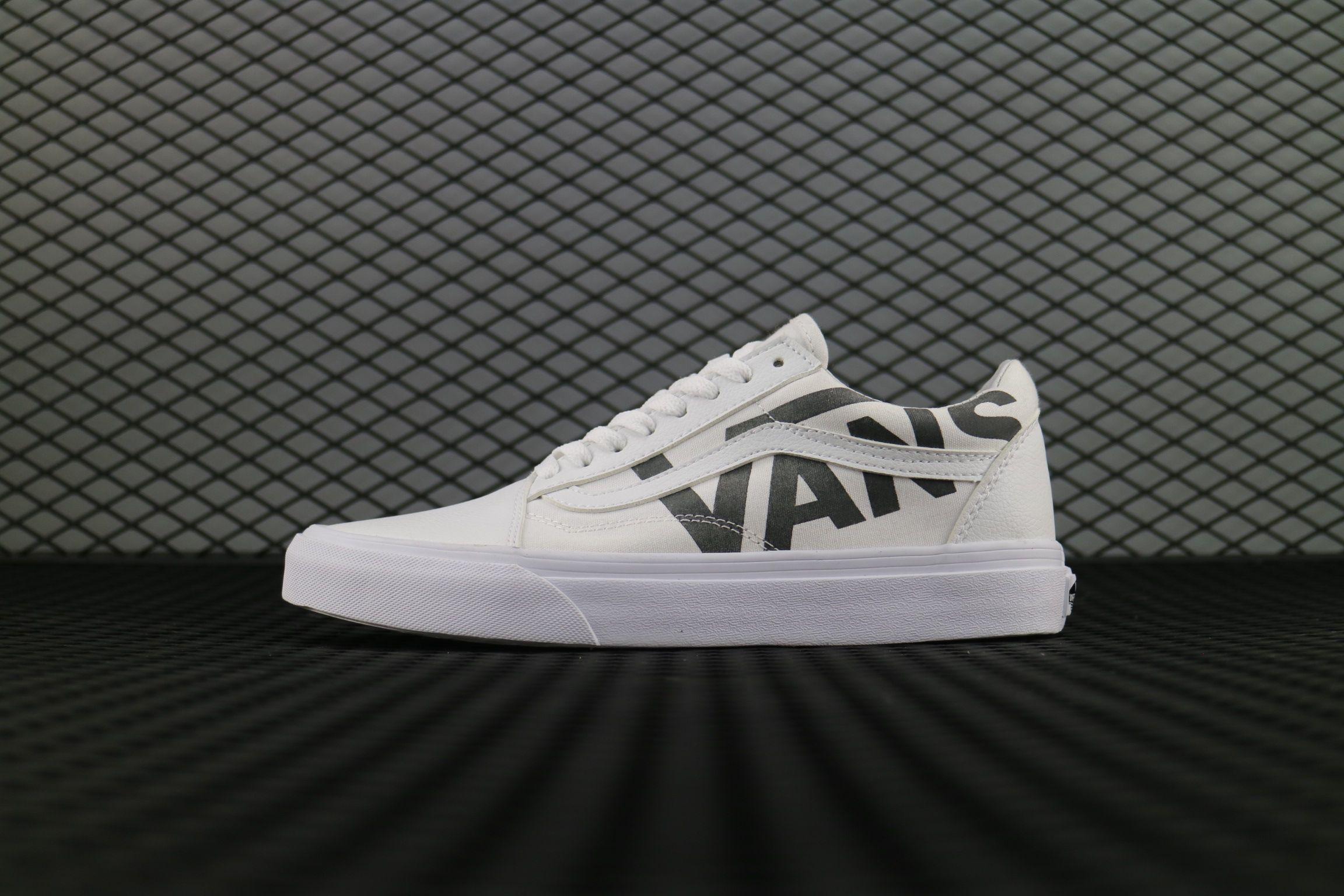 Vans Old Skool ShowRoom 21 30 White Vans Shoe For Sale  Vans ... fa4a491dd