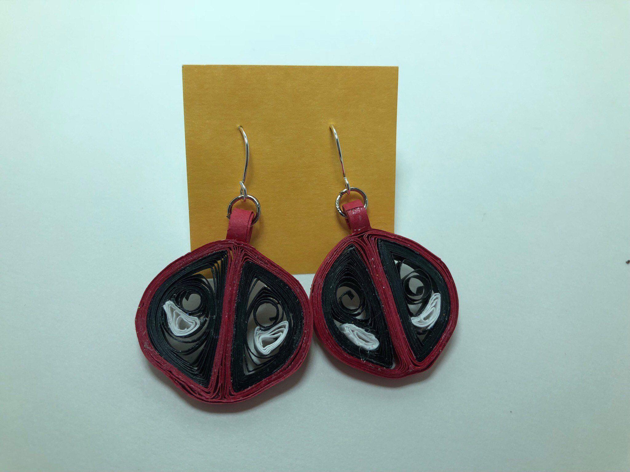 Deadpool earrings marvel pinterest deadpool marvel series and