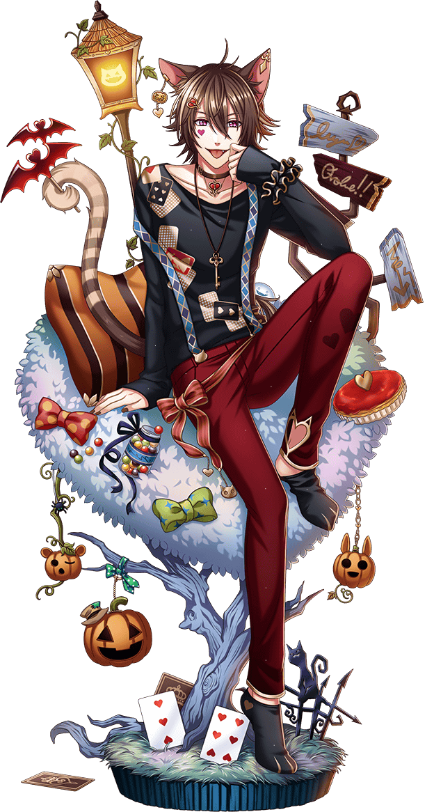 Cheshire Cat (Trick or Tea) Anime characters, Alice in